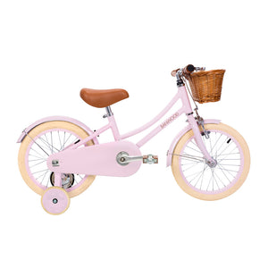 "Load image into Gallery viewer, Classic Pink 16"" Banwood Bike"