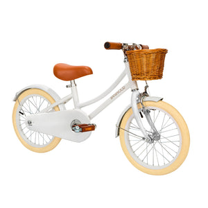"Load image into Gallery viewer, Classic White 16"" Banwood Bike"