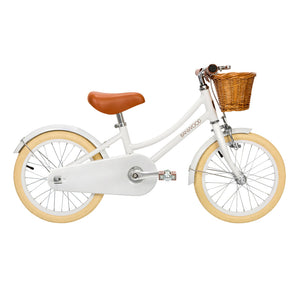 "Classic White 16"" Banwood Bike"