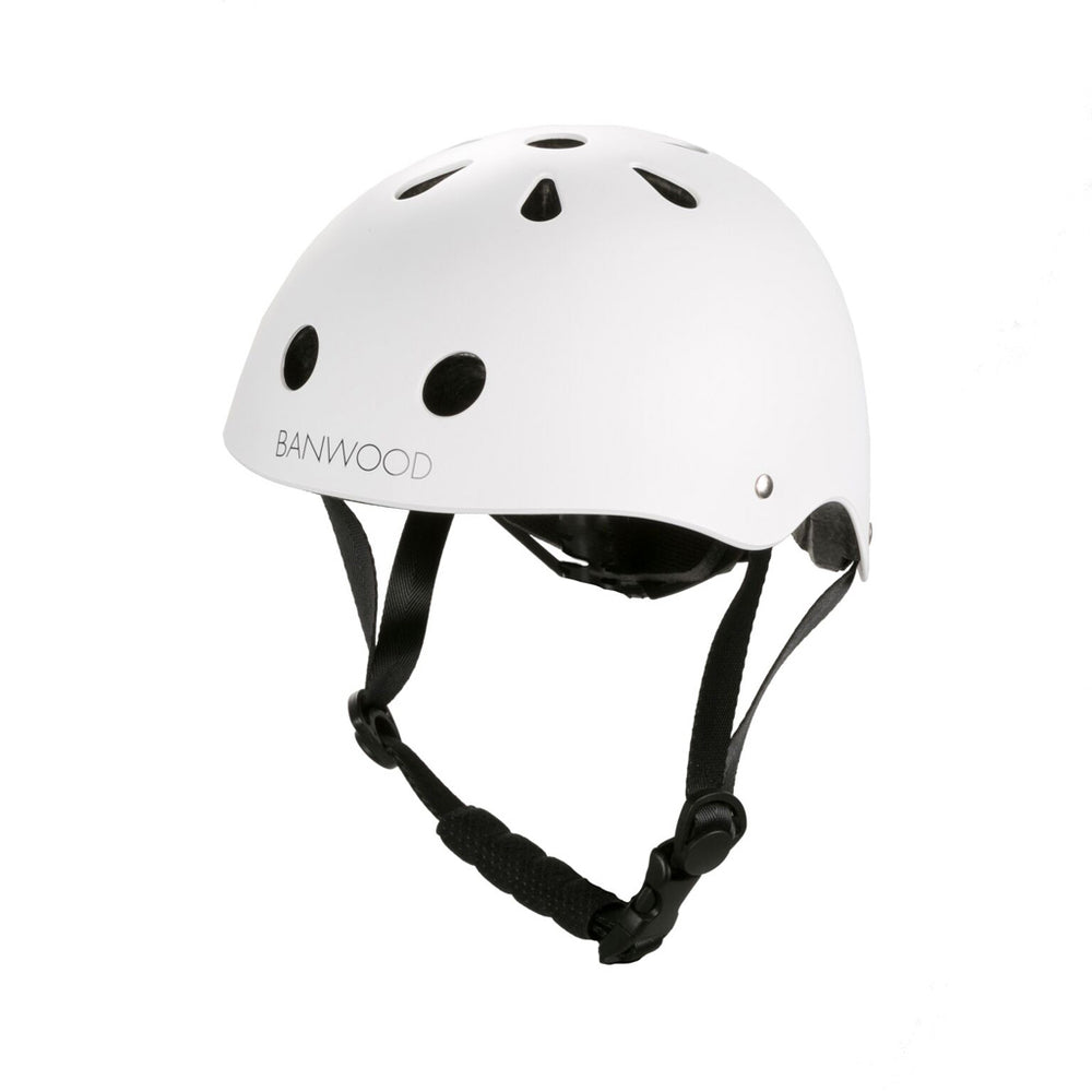 Load image into Gallery viewer, Banwood Classic Helmet white