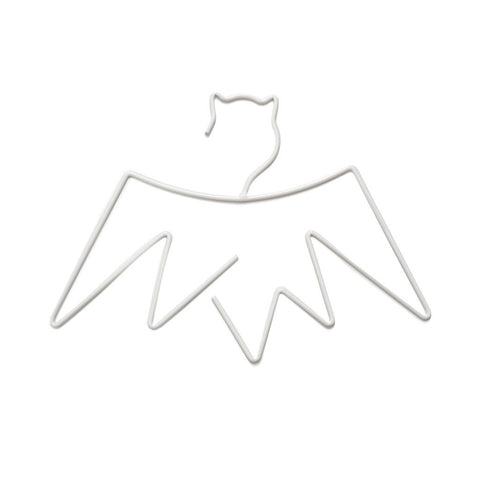 White Bat Kids Coat Hanger by Little Pop Studios