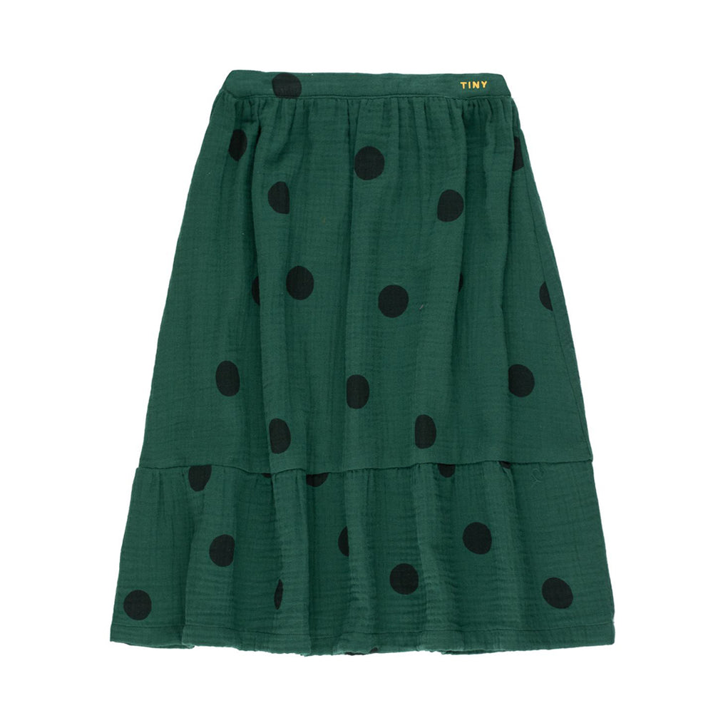 Big Dots Long Skirt by Tinycottons