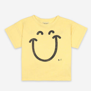 Big Smile Short Sleeve T-shirt by Bobo Choses