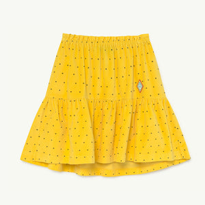 Bird Kids Skirt Yellow Dots by The Animals Observatory