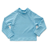 Blue Checks Rashguard by Oeuf