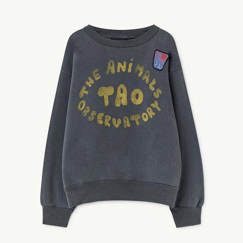 Bear Kids Sweatshirt in Blue by The Animals Observatory
