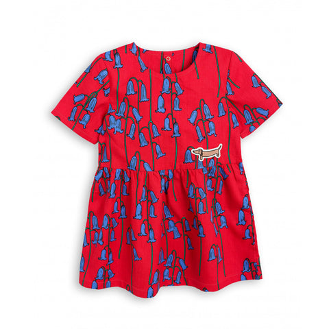 Bluebell Woven Dress by Mini Rodini