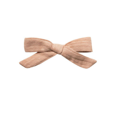Blush School Girl Bow by Rylee and Cru