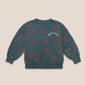 Load image into Gallery viewer, Bobo Choses All Over Sweatshirt by Bobo Choses