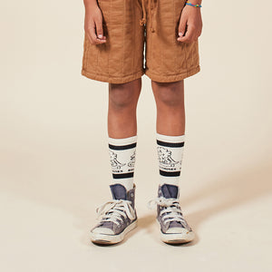 Load image into Gallery viewer, Dino Long Socks by Bobo Choses