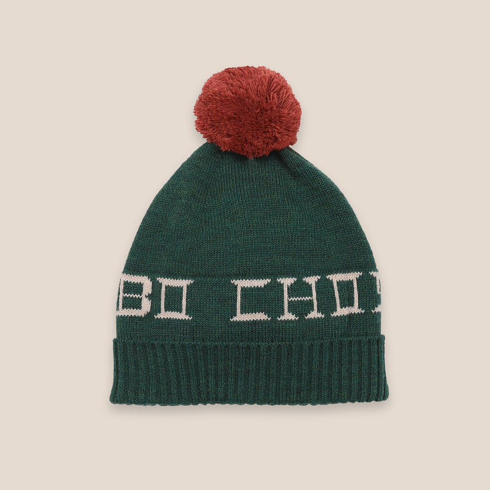 Bobo Choses PomPom Beanie by Bobo Choses
