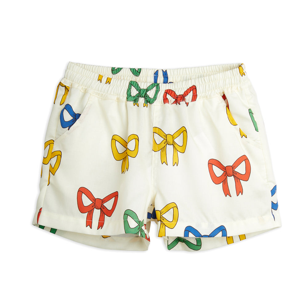 Load image into Gallery viewer, Bow Woven Shorts by Mini Rodini