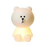 brown lamp small mr maria line friends