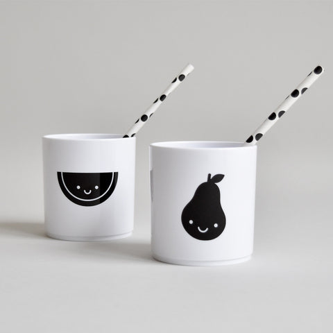 Fruit Friends Tumbler in White by Buddy and Bear