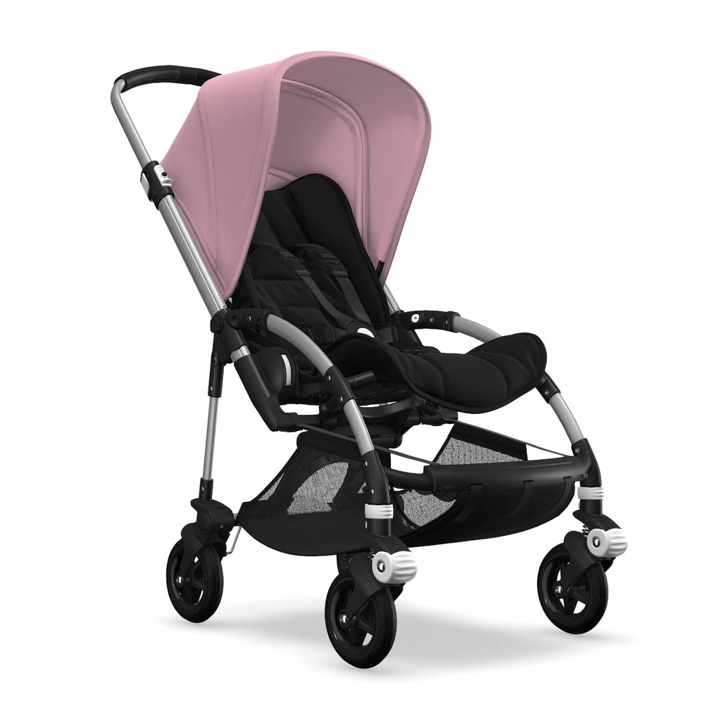 Bugaboo Bee5 Complete Set- Aluminum / Soft Pink