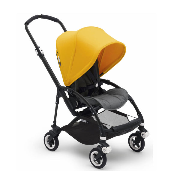Bugaboo Bee5 Complete Set- Black / Sunrise Yellow