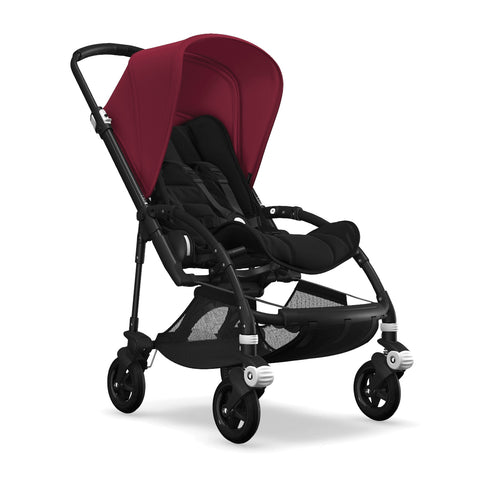 Bugaboo Bee5 Complete Set- Black / Ruby Red