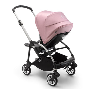 Load image into Gallery viewer, Bugaboo Bee6 Complete Set- Aluminum / Grey Melange / Soft Pink