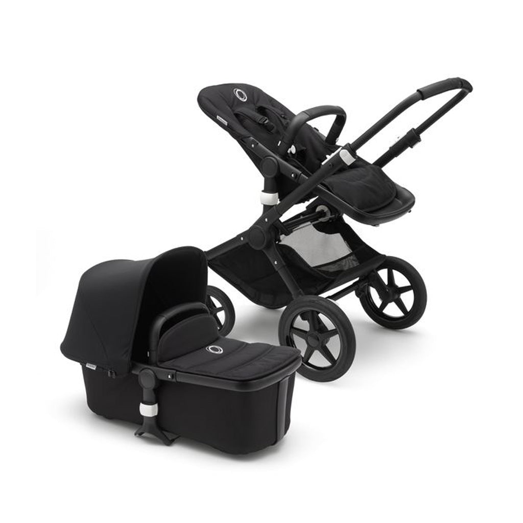 Bugaboo Fox Complete Set- All Black