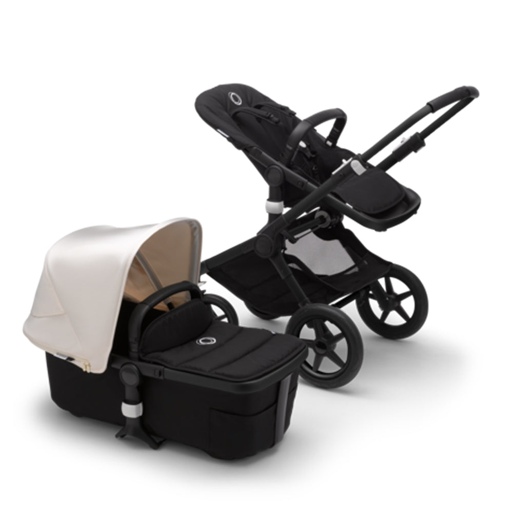Load image into Gallery viewer, Bugaboo Fox2 Complete Set- Black/ Fresh White
