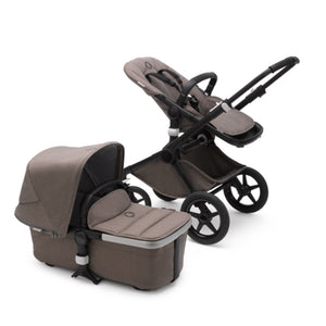 Bugaboo Fox2 Mineral Complete Set- Black / Taupe