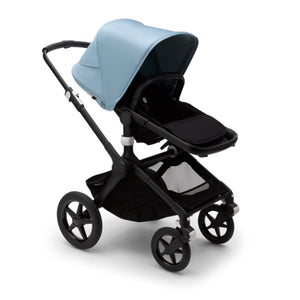 Load image into Gallery viewer, Bugaboo Fox2 Complete Set- Black/ Vapor Blue