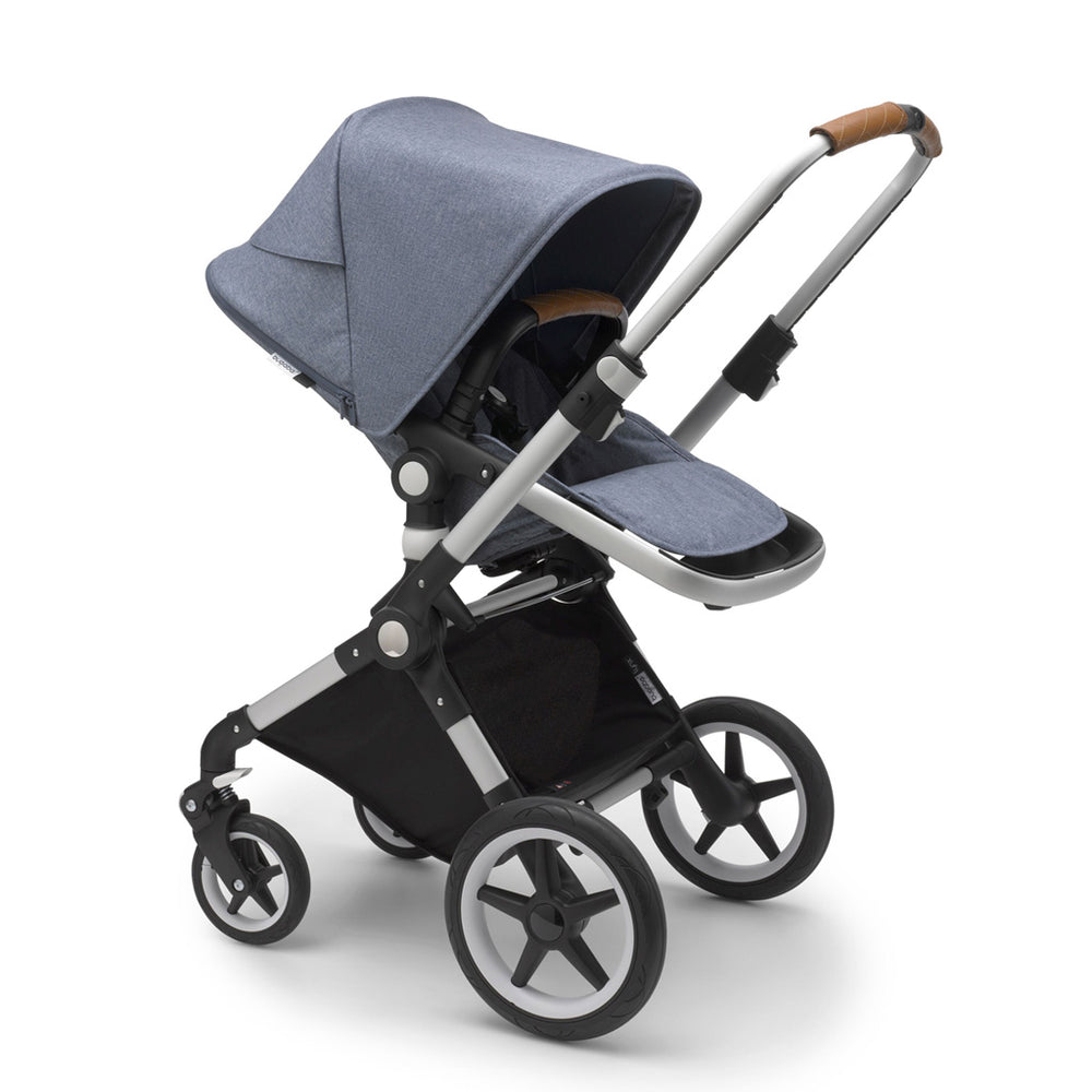 Load image into Gallery viewer, Bugaboo Lynx Complete Set- Aluminum / Blue Melange