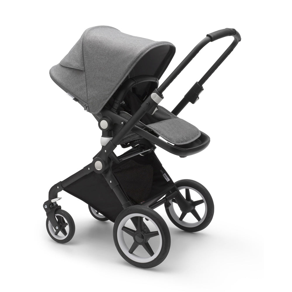 Load image into Gallery viewer, Bugaboo Lynx Complete Set- Black / Grey Melange