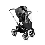 bugaboo high performance rain cover black, donkey, buffalo, runner