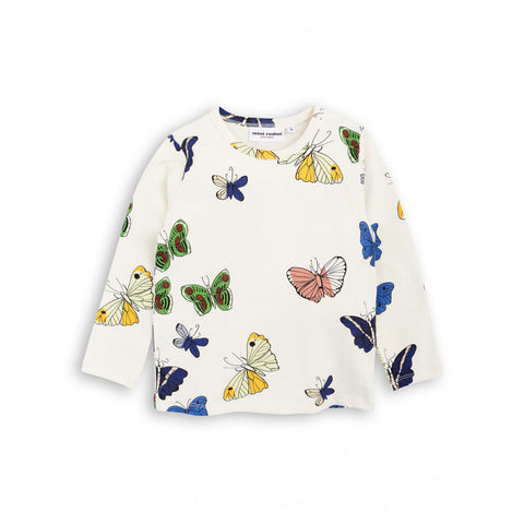 Butterflies Long Sleeve Tee by Mini Rodini
