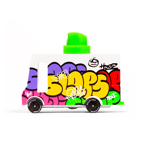 Load image into Gallery viewer, Graffiti Van by Candylab