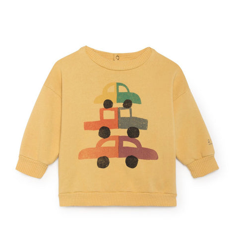 Cars Baby Sweatshirt by Bobo Choses