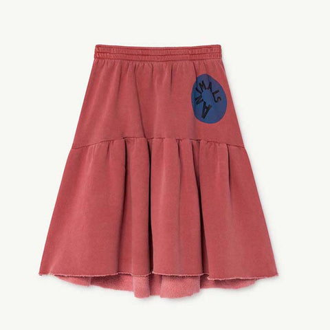 Cat Kids Skirt in Red by The Animals Observatory