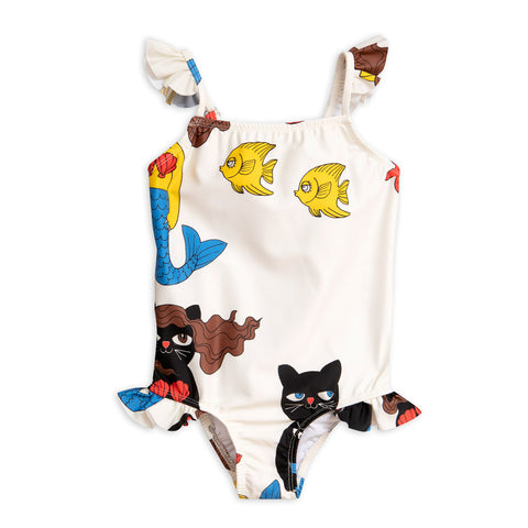 Cat Mermaid Wing Swimsuit by Mini Rodini