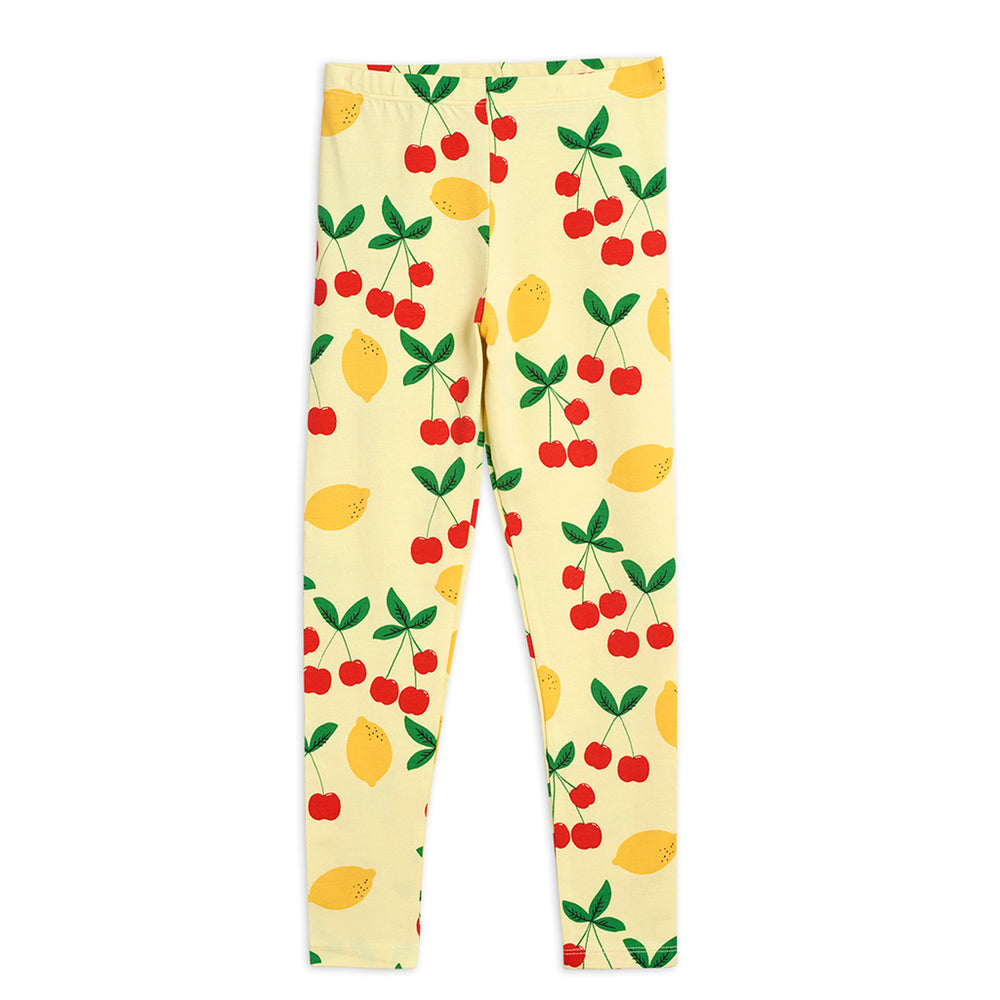 Cherry Lemonade Leggings by Mini Rodini