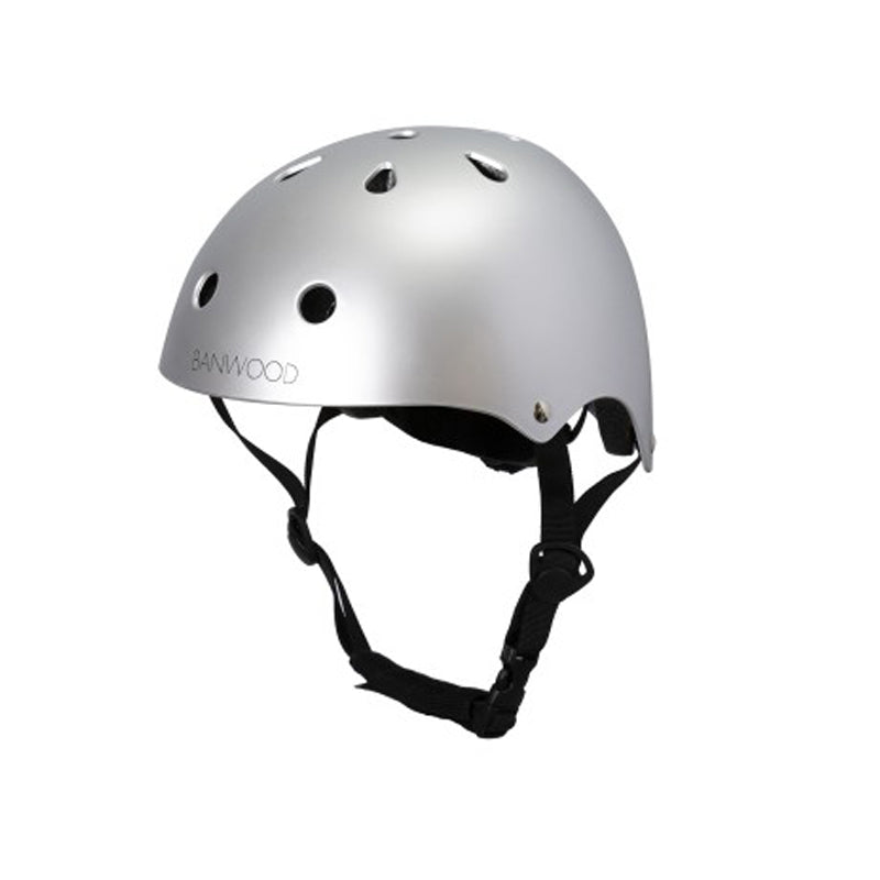 Banwood Classic Helmet chrome