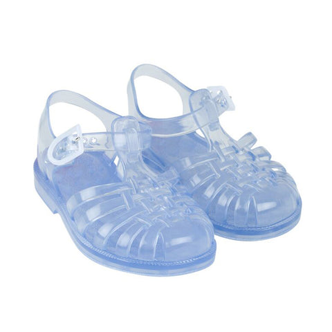 Clear Jelly Sandals by Tinycottons