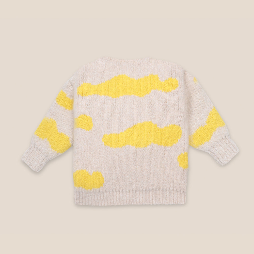 Baby Clouds All Over Cardigan by Bobo Choses