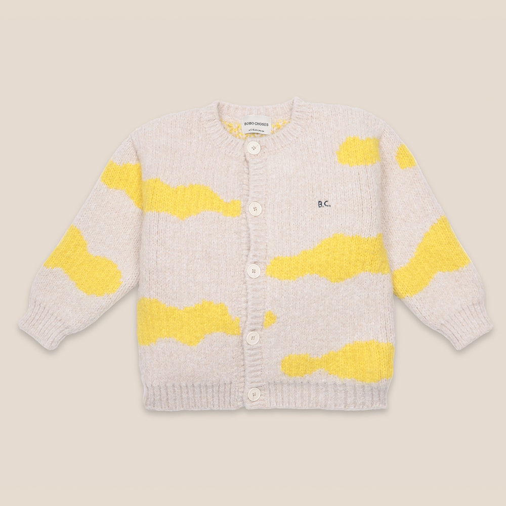 Clouds All Over Cardigan by Bobo Choses