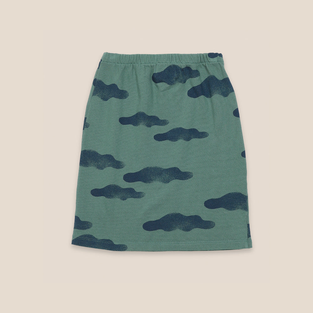 Clouds All Over Skirt by Bobo Choses