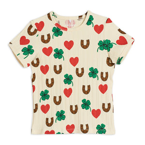 Clover Tee by Mini Rodini
