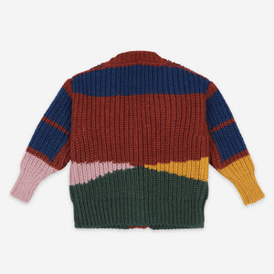 Color Block Cardigan by Bobo Choses