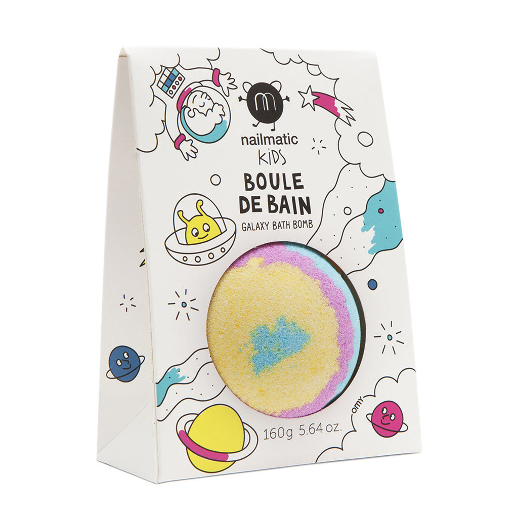 Galaxy Bath Bomb by Nailmatic