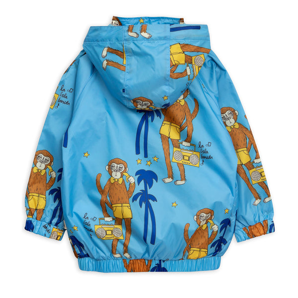 Cool Monkey Sporty Jacket Blue by Mini Rodini