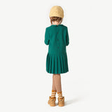 Canary Kids Dress in Trotta Cavallino by The Animals Observatory