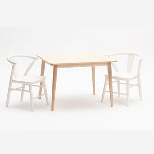Crescent Table in Natural by Milton and Goose