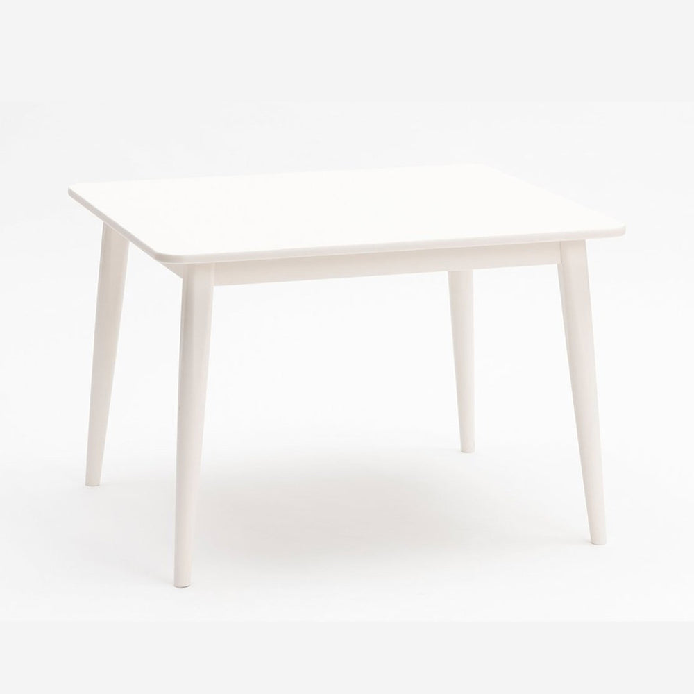 Crescent Table in White by Milton and Goose