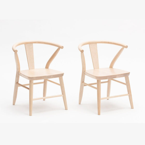 Crescent Chairs in Natural by Milton and Goose