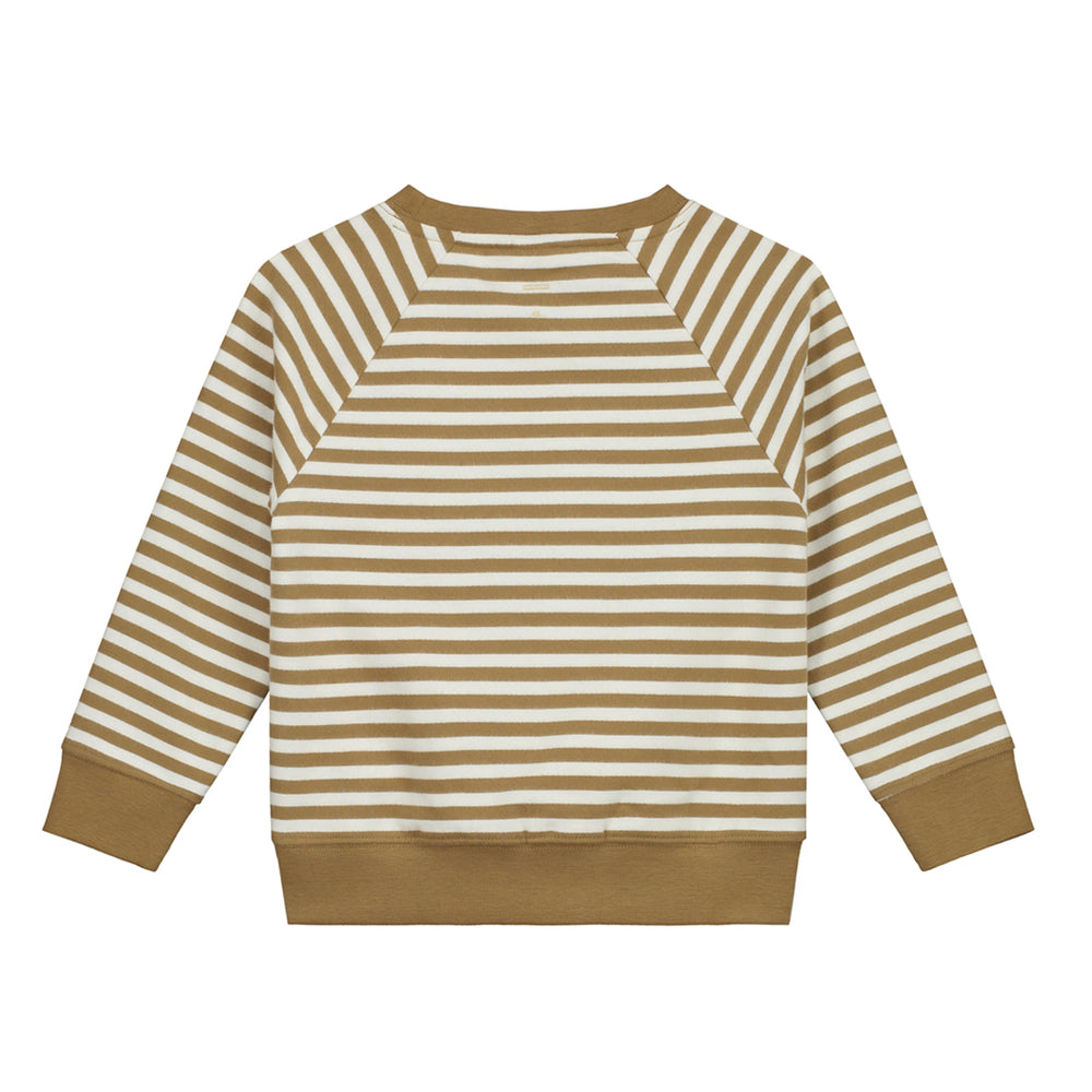 Load image into Gallery viewer, Crewneck Sweater Peanut / Off White by Gray Label