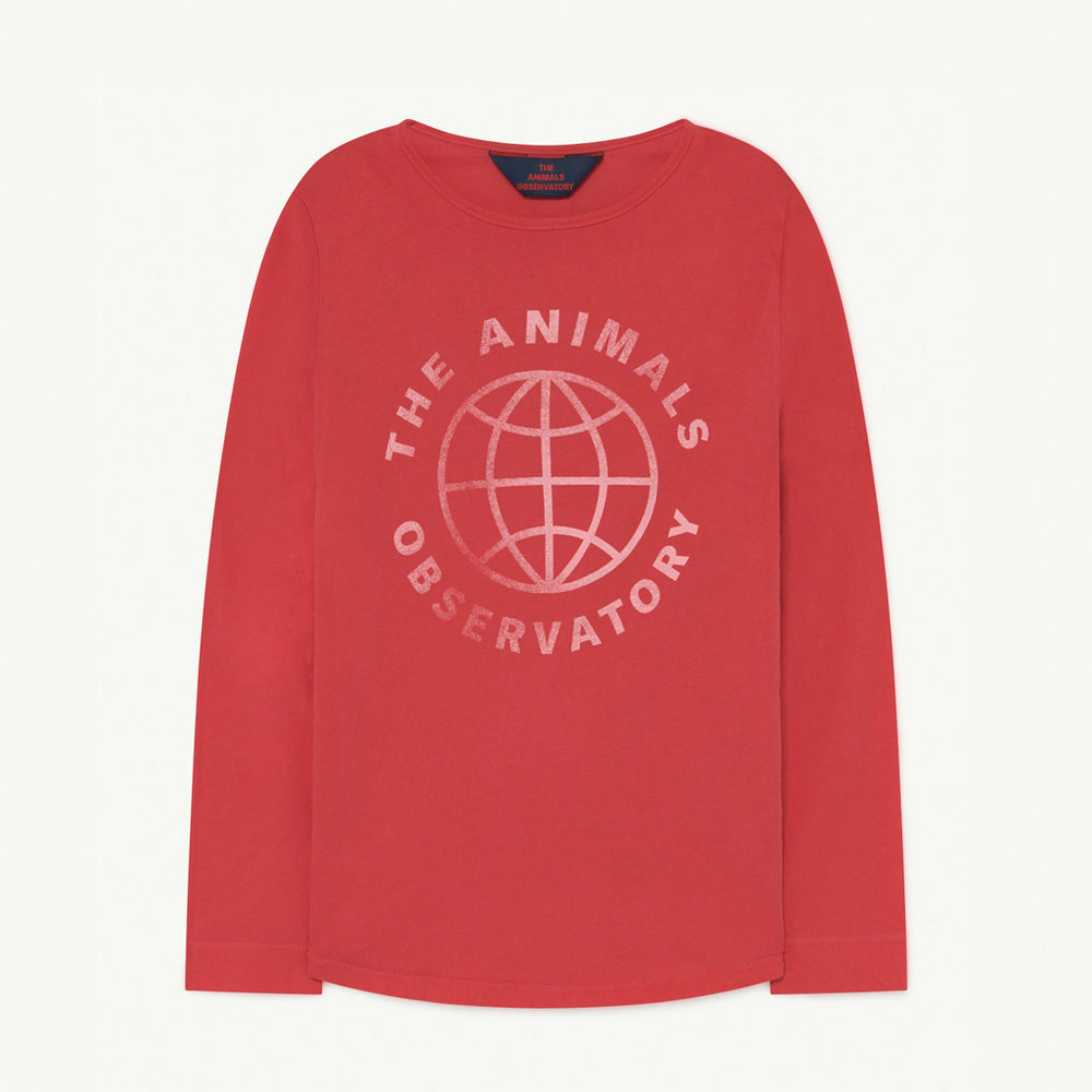 Cricket Kids T-shirt Red Planet by The Animals Observatory
